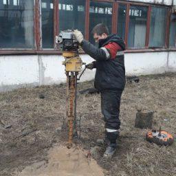 обследование фундаментов зданий и сооружений.